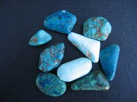 Tumbled Turquoisecabs 20grams