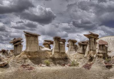 Hoodoos Rocks New Mexico